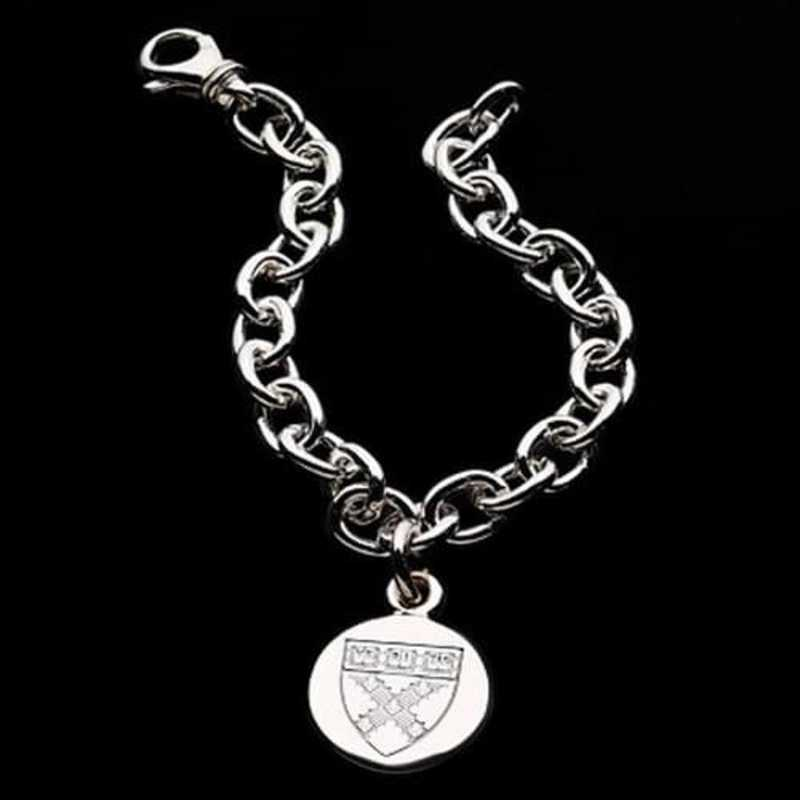 615789910145: Harvard Business School SS Charm Bracelet