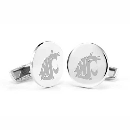 615789012665: Washington State Univ Cufflinks in SS