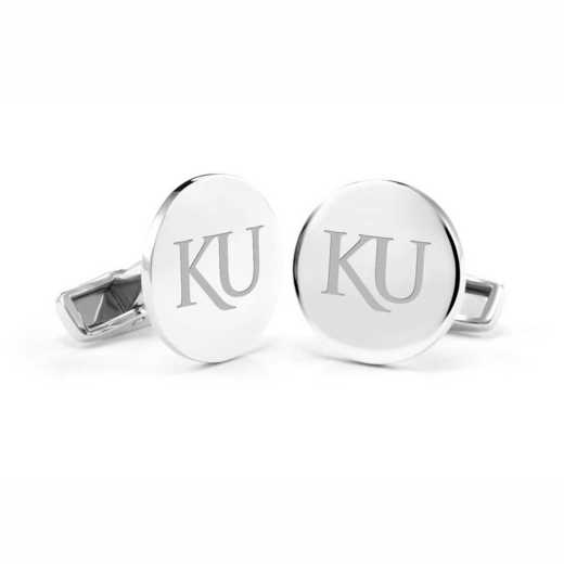 615789750673: Univ of Kansas Cufflinks in SS