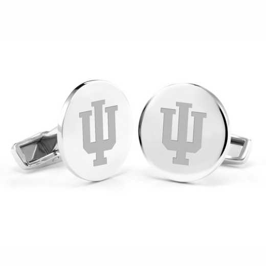 615789795612: Indiana Univ Cufflinks in SS