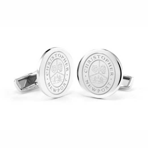 615789968146: Christopher Newport Univ Cufflinks in SS