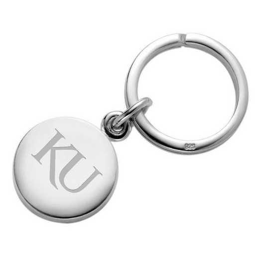 615789412632: Univ of Kansas SS Insignia Key Ring