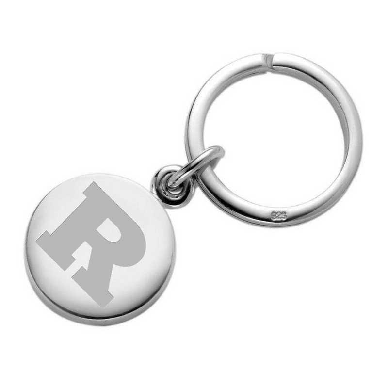 615789698357: Rutgers Univ SS Insignia Key Ring