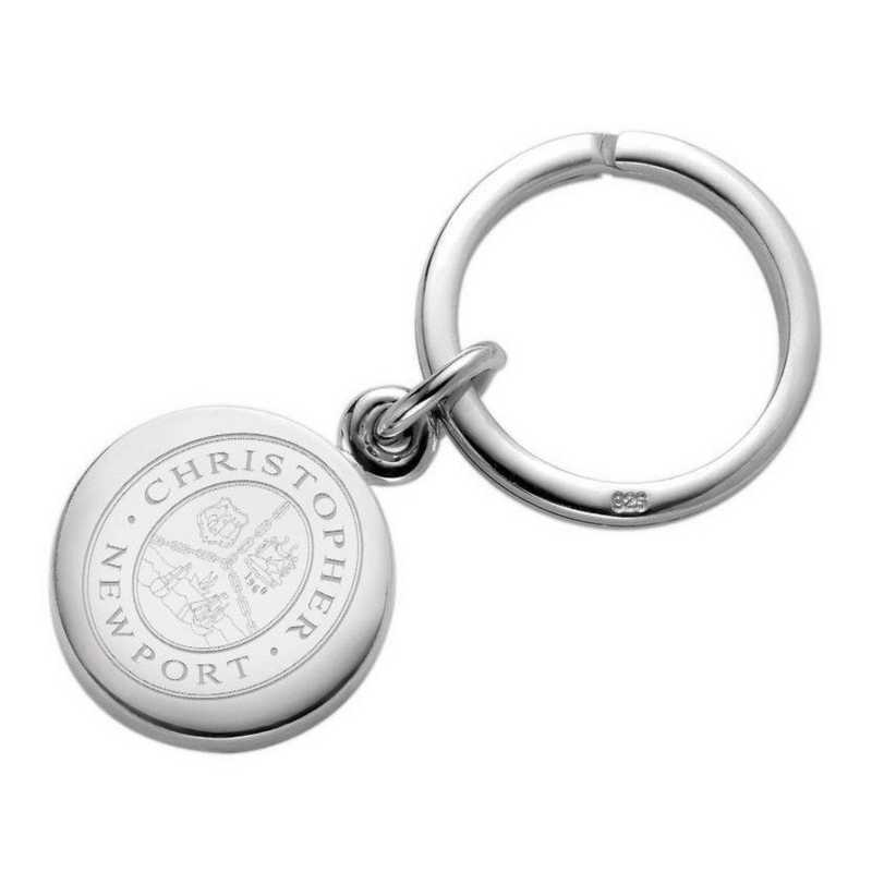 615789787358: Christopher Newport Univ SS Insignia Key Ring