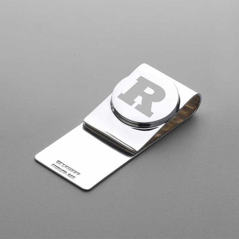 615789482291: Rutgers Univ SS Money Clip