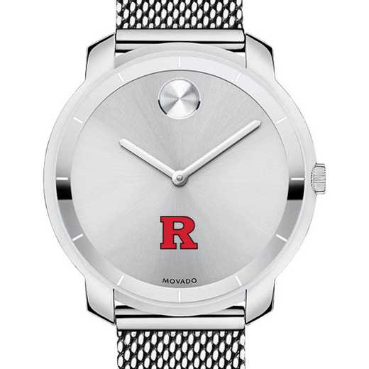 615789815020: Rutgers Univ Women's Movado Stainless Bold 36