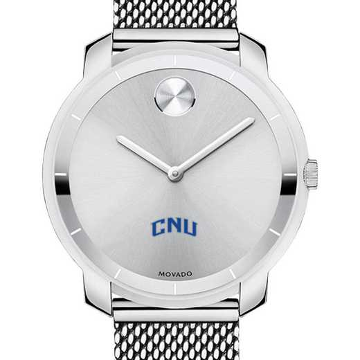 615789911845: Christopher Newport Univ Women's Movado Stainless Bold 36