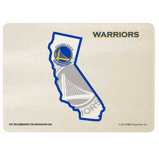 NBA-GSW-2237: CUTTING BOARD SOM GOLDEN WARRIORS