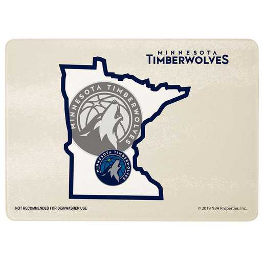 NBA-MTI-2237: CUTTING BRD SOM TIMBERWOLVES
