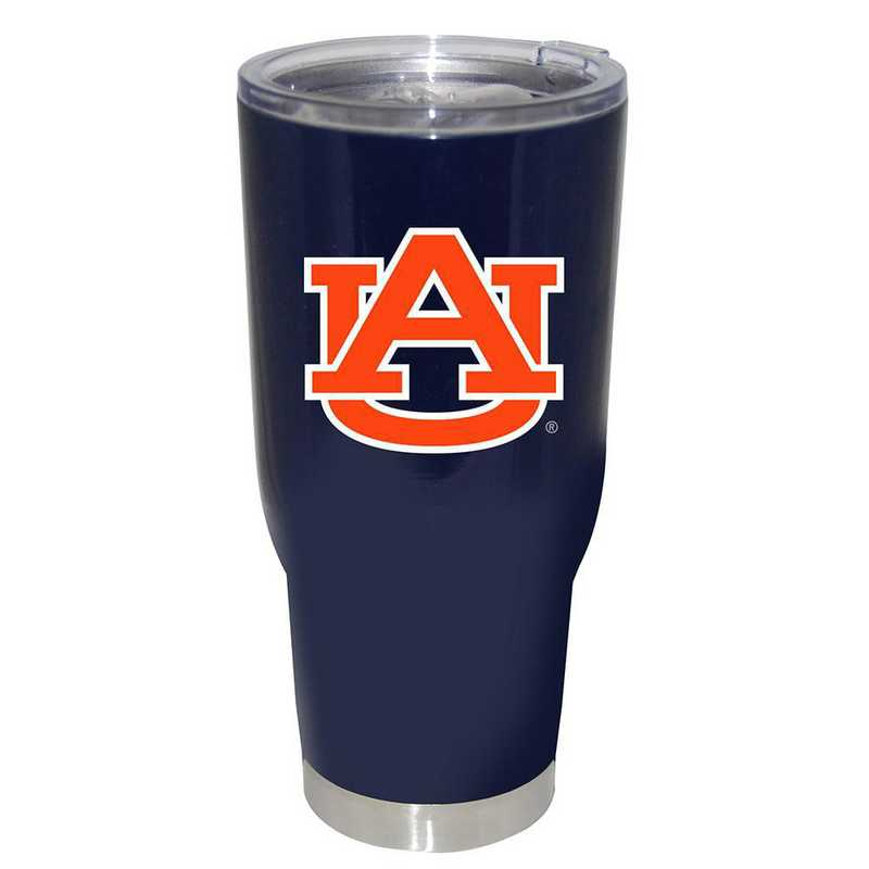 COL-AU-750101: 32oz Decal PC SS Tumbler Auburn