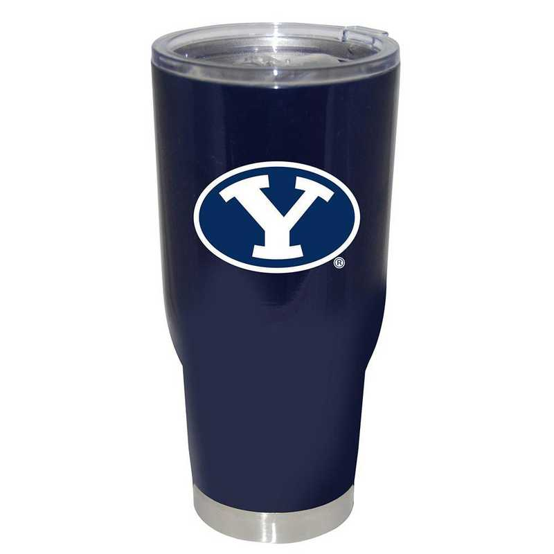 COL-BYU-750101: 32oz Decal PC SS Tumbler BYU