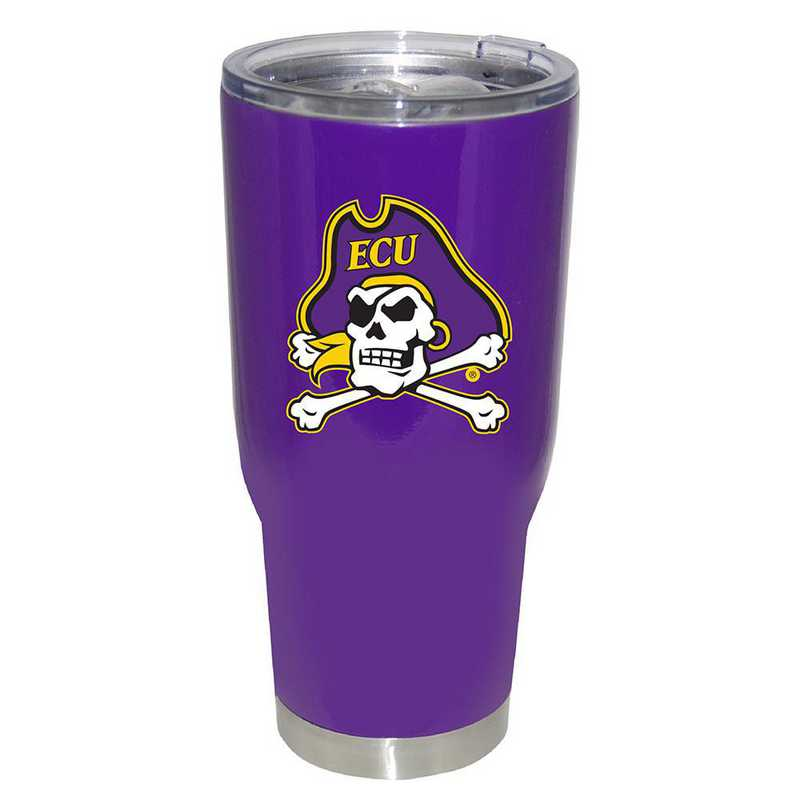COL-ECU-750101: 32oz Decal PC SS Tumbler E Carolina