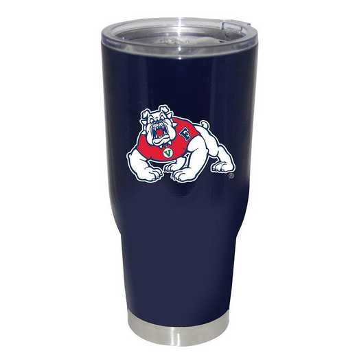 COL-FRS-750101: 32oz Decal PC SS Tumbler Fresno St