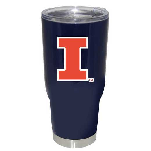 COL-ILL-750101: 32oz Decal PC SS Tumbler IL