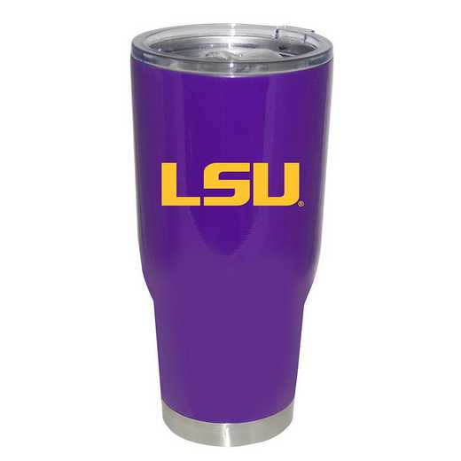 COL-LSU-750101: 32oz Decal PC SS Tumbler LSU