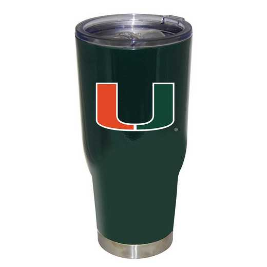 COL-MIA-750101: 32oz Decal PC SS Tumbler Miami
