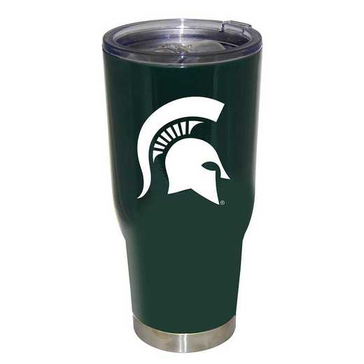 COL-MSU-750101: 32oz Decal PC SS Tumbler MI St