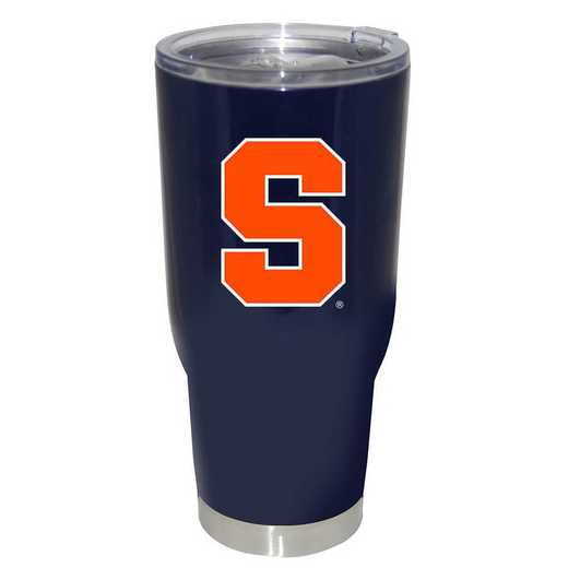 COL-SYR-750101: 32oz Decal PC SS Tumbler Syracuse
