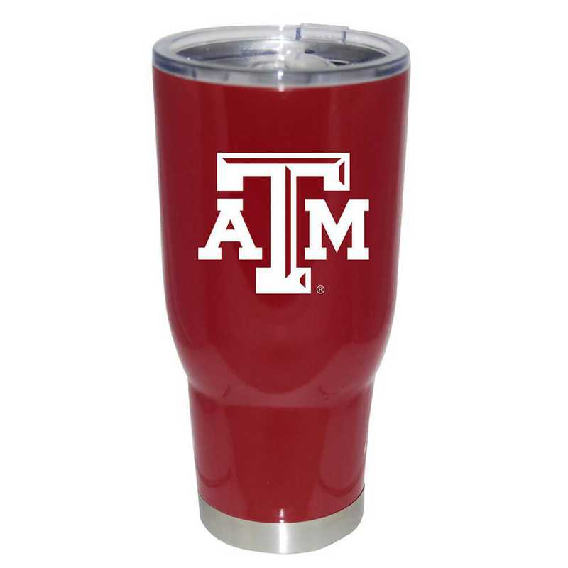 COL-TAM-750101: 32oz Decal PC SS Tumbler TX A&M
