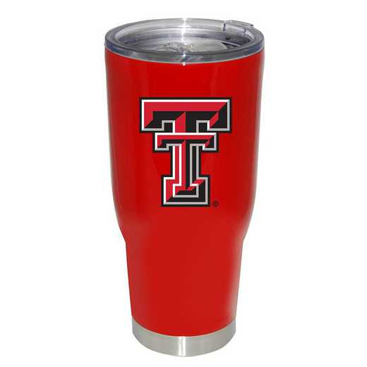 COL-TXT-750101: 32oz Decal PC SS Tumbler TX Tech