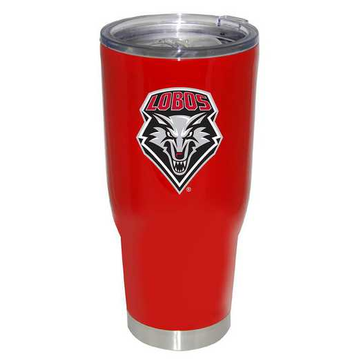 COL-UNM-750101: 32OZ PC SSK LP WD - UNIV NEW MEXICO