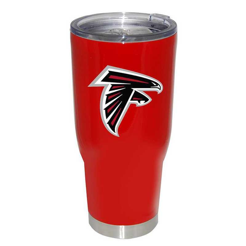 NFL-AFA-750101: 32oz Decal PC SS Tumbler Falcons