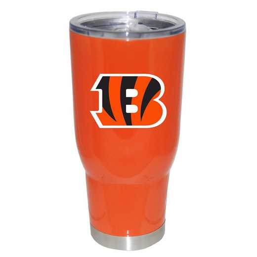 NFL-CBG-750101: 32oz Decal PC SS Tumbler Bengals