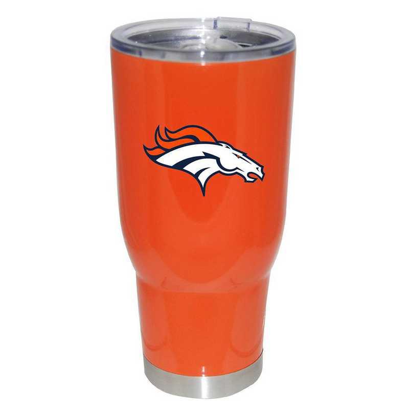 NFL-DBR-750101: 32oz Decal PC SS Tumbler Broncos