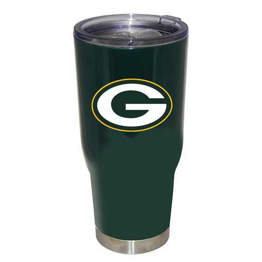 NFL-GBP-750101: 32oz Decal PC SS Tumbler Packers