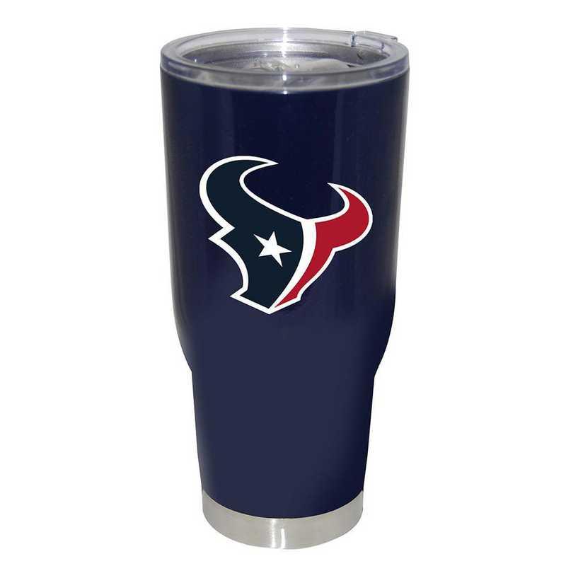 NFL-HTE-750101: 32oz Decal PC SS Tumbler Texans