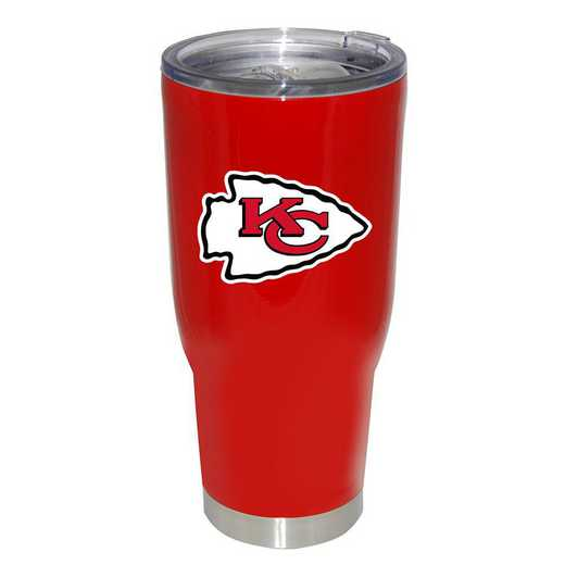 NFL-KCC-750101: 32oz Decal PC SS Tumbler Chiefs