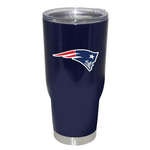 NFL-NEP-750101: 32oz Decal PC SS Tumbler Patriots