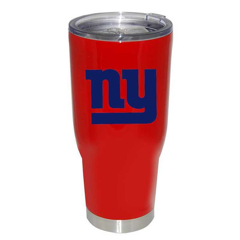 NFL-NYG-750101: 32oz Decal PC SS Tumbler Giants