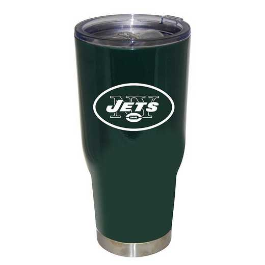 NFL-NYJ-750101: 32oz Decal PC SS Tumbler Jets