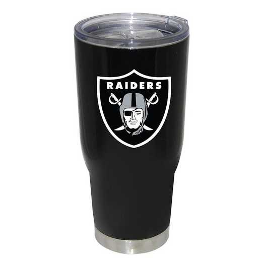 NFL-ORA-750101: 32oz Decal PC SS Tumbler Raiders