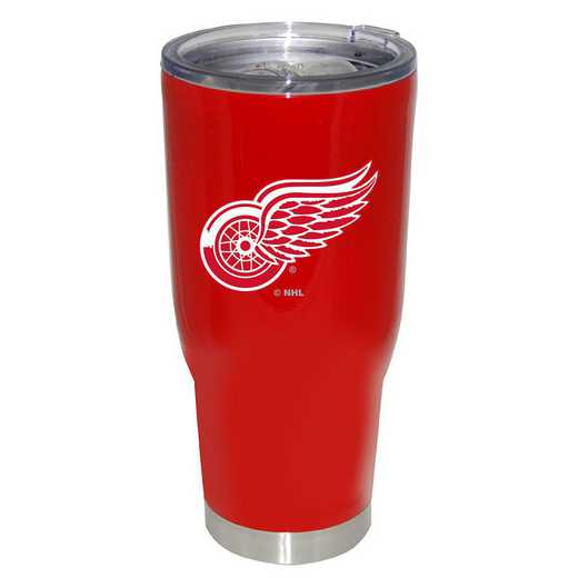 NHL-DRW-750101: 32oz Decal PC SS Tumbler Red Wings