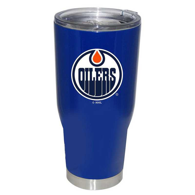 NHL-EDO-750101: 32oz Decal PC SS Tumbler Oilers