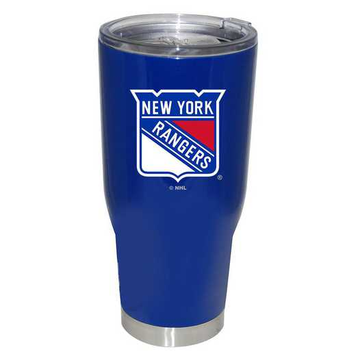 NHL-NYR-750101: 32oz Decal PC SS Tumbler Rangers