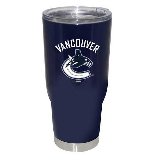 NHL-VCA-750101: 32oz Decal PC SS Tumbler Canucks