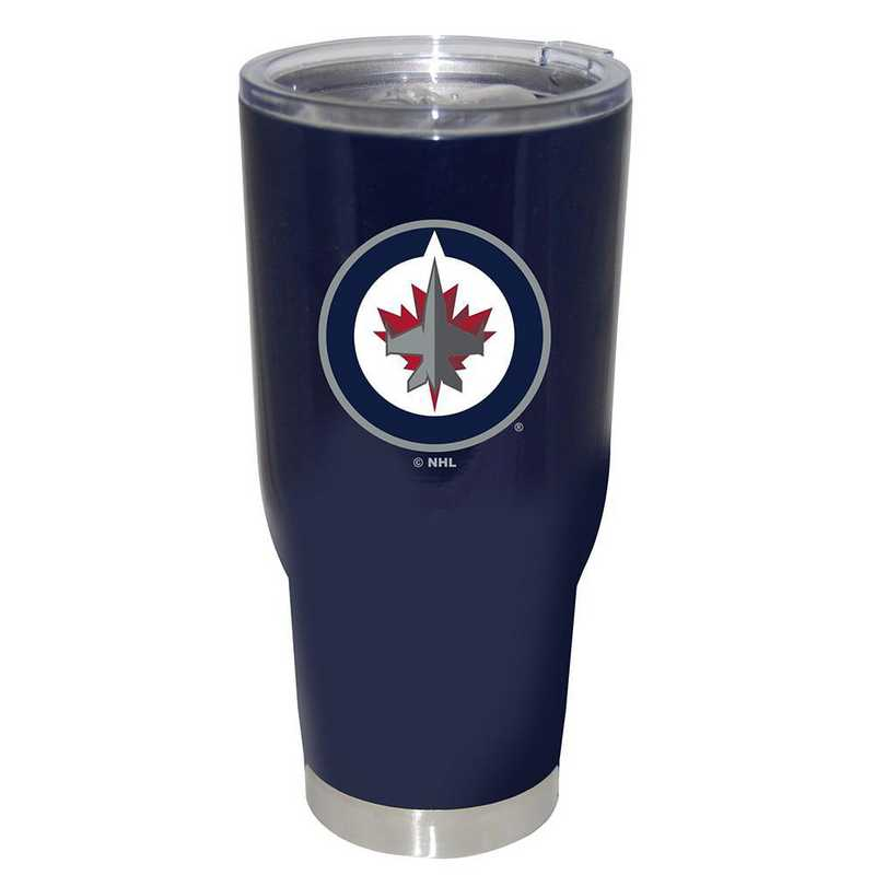 NHL-WPG-750101: 32oz Decal PC SS Tumbler Jets