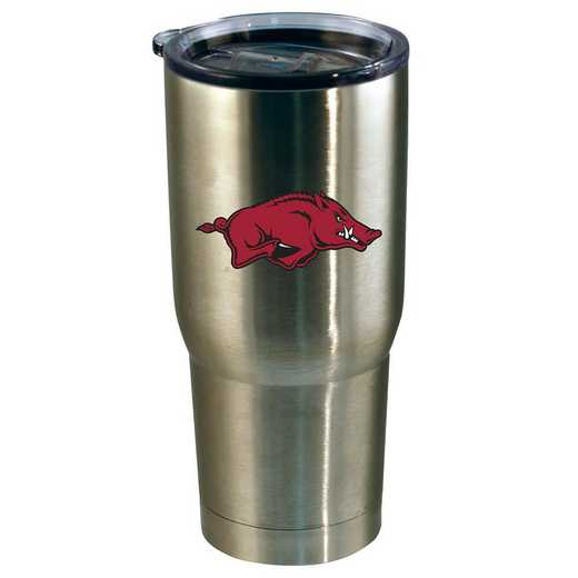 COL-ARK-720101: 22oz Decal SS Tumbler AR