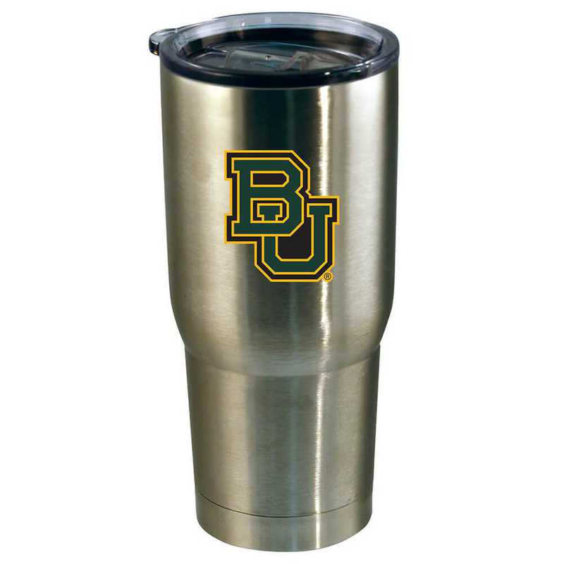 COL-BAY-720101: 22oz Decal SS Tumbler Baylor