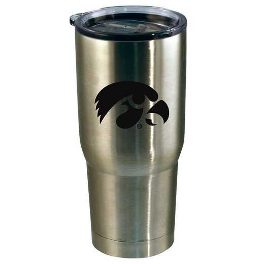 COL-IOW-720101: 22oz Decal SS Tumbler IA