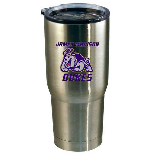 COL-JMU-720101: 22oz Decal SS Tumbler JMU