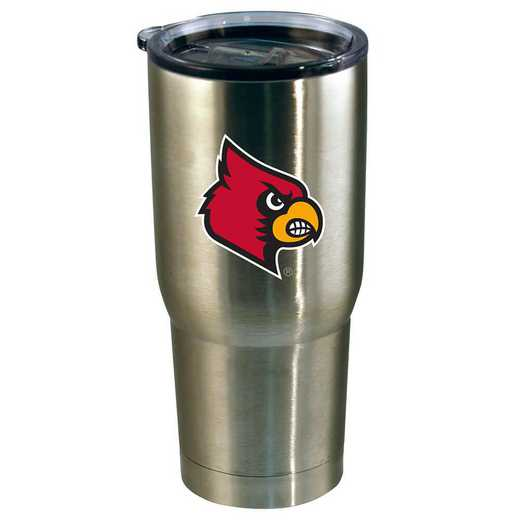 COL-LOU-720101: 22oz Decal SS Tumbler Louisville