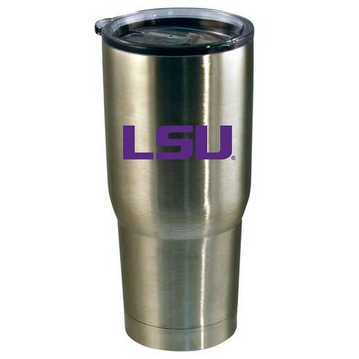 COL-LSU-720101: 22oz Decal SS Tumbler LSU