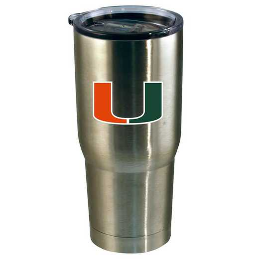 COL-MIA-720101: 22oz Decal SS Tumbler Miami