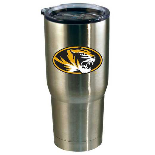 COL-MIZ-720101: 22oz Decal SS Tumbler MO