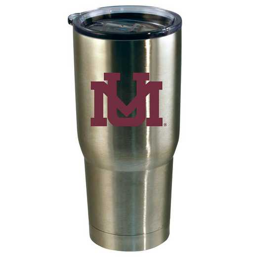 COL-MT-720101: 22oz Decal SS Tumbler Univ Of Montana