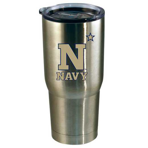 COL-NAV-720101: 22oz Decal SS Tumbler Navy
